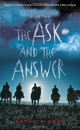 Ask and the Answer - Patrick Ness (cover)